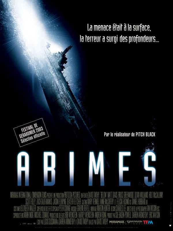 Abîmes affiche
