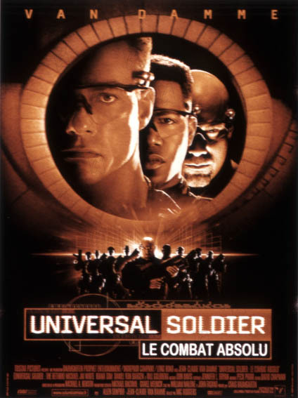 Universal Soldier 2 - Le combat absolu affiche