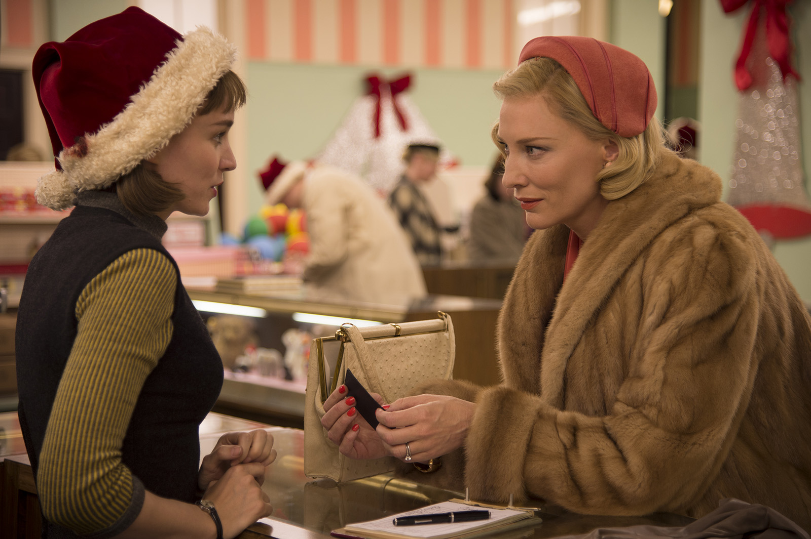 Carol : Photo Cate Blanchett, Rooney Mara