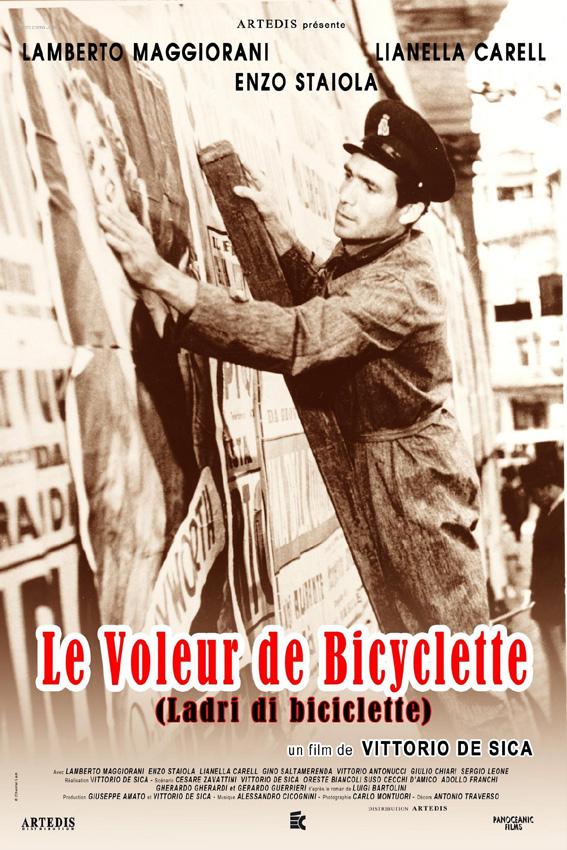 Le Voleur de bicyclette : Affiche