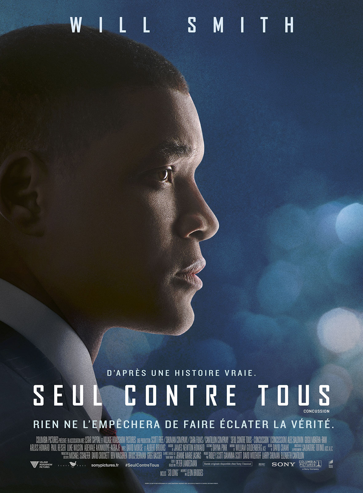 SEUL CONTRE TOUS (CONCUSSION)en streaming