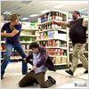 Bienvenue à Zombieland : Photo Jesse Eisenberg, Ruben Fleischer, Woody Harrelson