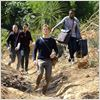 Photo George Eads, Justin Hires, Lucas Till, Tristin Mays