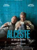 Photo : Alceste à bicyclette