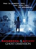 Photo : Paranormal Activity 5 Ghost Dimension