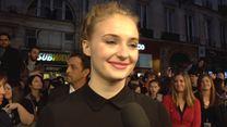 """Les acteurs de """"Game of Thrones"""" sur le tapis rouge parisien"""