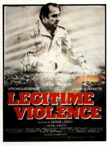 Légitime violence affiche