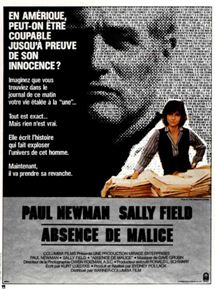 Absence de Malice streaming gratuit