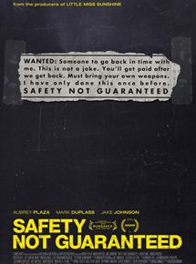 Safety Not Guaranteed streaming