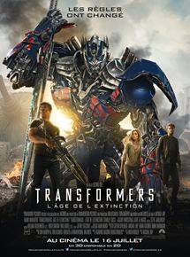 Transformers : l'âge de l'extinction streaming