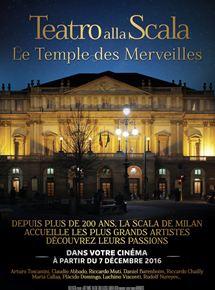 Le temple des merveilles - La Scala de Milan (CGR Events)