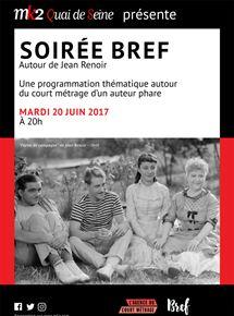 Soirée Bref autour de Jean Renoir