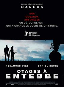Otages à Entebbe affiche