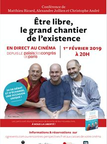 Être libre : le grand chantier de l'existence (CGR Events)