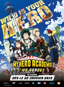 My Hero Academia : Two Heroes (CGR Events 2019) stream