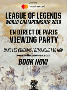 League of Legend World Championship 2019