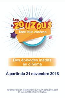Les Zouzous font leur cinéma (CGR Events)