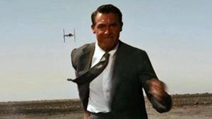 Star Wars s'invite dans la célèbre scène de La Mort aux trousses d'Alfred Hitchcock