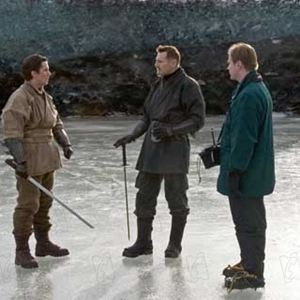 Batman Begins : Photo Christian Bale, Christopher Nolan, Liam Neeson