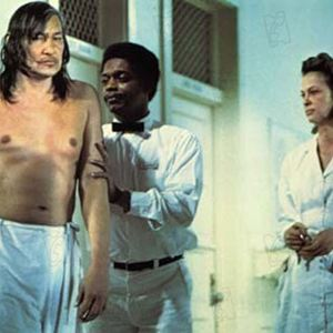 Vol au-dessus d'un nid de coucou : Photo Louise Fletcher, Milos Forman, Will Sampson
