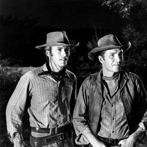 Photo Clint Eastwood, Eric Fleming