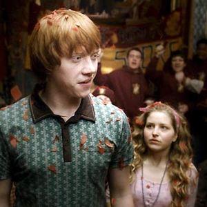 Harry Potter et le Prince de sang mêlé : Photo Jessie Cave, Rupert Grint