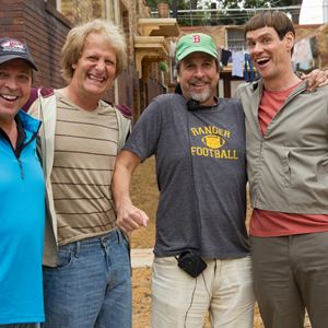 Dumb & Dumber De : Photo Bobby Farrelly, Jeff Daniels, Jim Carrey, Peter Farrelly