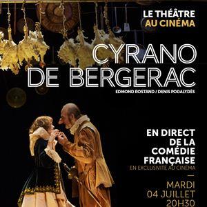Cyrano de Bergerac (Comédie-Française / Pathé Live) : Affiche