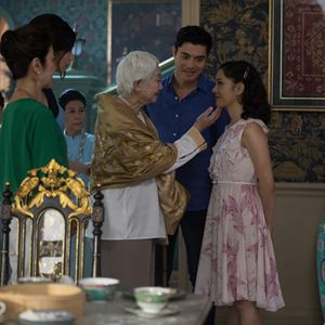 Crazy Rich Asians : Photo Constance Wu, Gemma Chan, Henry Golding, Lisa Lu, Michelle Yeoh