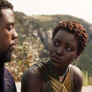 Black Panther : Photo Chadwick Boseman, Lupita Nyong'o