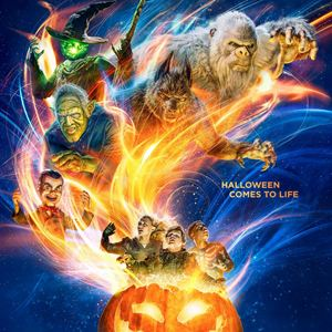 Chair de poule 2 : Les Fantômes d'Halloween : Affiche