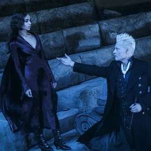 Les Animaux fantastiques : Les crimes de Grindelwald : Photo Johnny Depp, Zoë Kravitz
