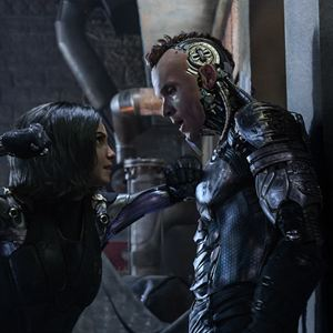 Alita : Battle Angel : Photo Ed Skrein, Rosa Salazar