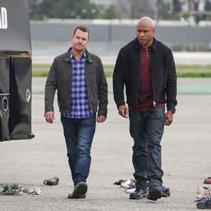 Photo Chris O'Donnell, LL Cool J