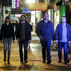 Photo Chris O'Donnell, Daniela Ruah, Eric Christian Olsen, LL Cool J