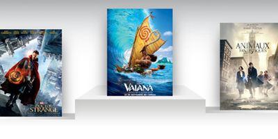 Box-office US : Vaiana surfe sur la concurrence