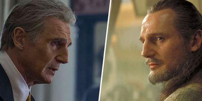 """De """"The Secret Man"""" à """"Star Wars"""" : les looks de Liam Neeson"""