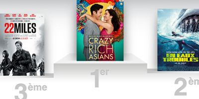 Box-office US : Crazy Rich Asians crée la surprise en détrônant le mégalodon !