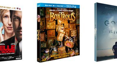 Gone Girl, Les Boxtrolls, Elle l'adore... Les 10 Blu-rays / DVD à se procurer d'urgence en février