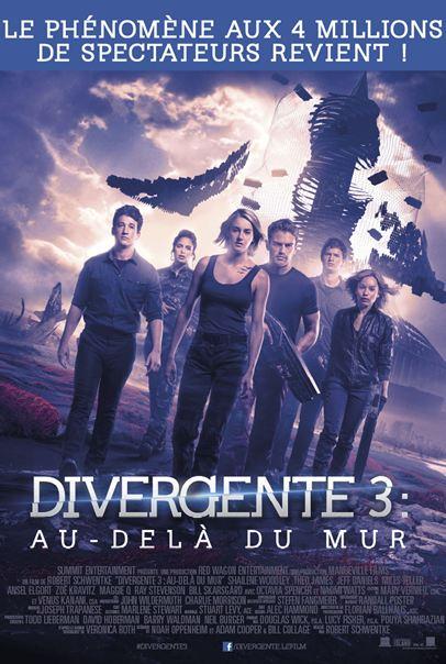 Divergente 3 : au-delà du mur [BRRiP] Francais