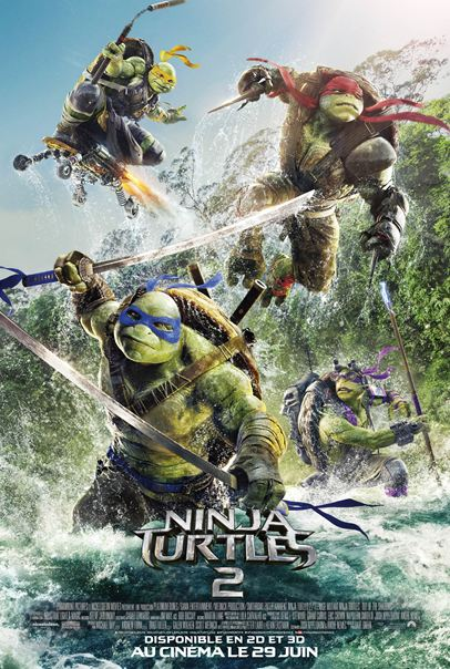 Ninja Turtles 2 [BDRip] TrueFrench