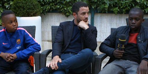 """Cannes 2015 - Guillaume Gouix : """"La vie en cité est dure mais aussi pleine de solidarité, d'égalité, d'entraide..."""""""