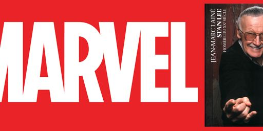 Marvel : la vie et l'oeuvre de Stan Lee disséquées dans un livre