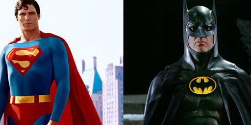 Batman et Superman : les costumes de Michael Keaton et Christopher Reeve vendus aux enchères