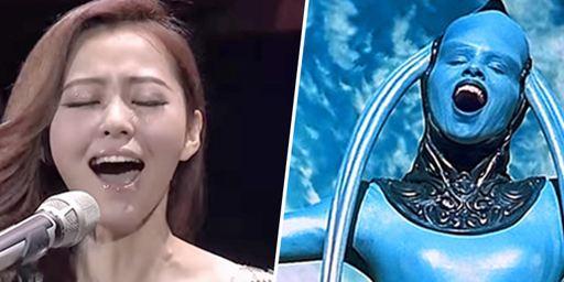 Le Cinquième élément : une cantatrice chinoise réinterprète la Diva Dance
