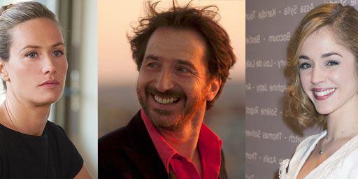 Edouard Baer, Cécile de France et Alice Isaaz chez Emmanuel Mouret