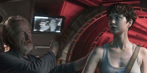Alien Covenant : 20 minutes de scènes coupées disponibles sur le DVD