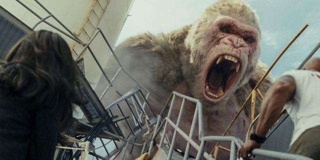 """Rampage - Hors de contrôle : """"Mettre dans un même film trois créatures mutantes donne un film totalement fou !"""""""