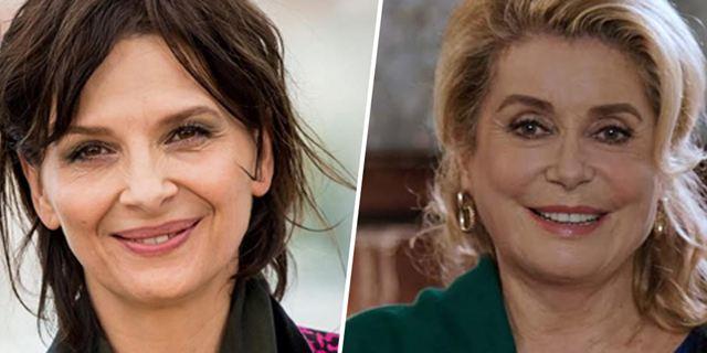 Juliette Binoche et Catherine Deneuve bientôt réunies pour la première fois à l'écran