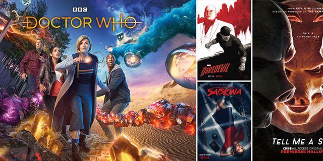 Marvel's Daredevil, Tell Me a Story, Les nouvelles aventures de Sabrina... Les séries font le plein d'affiches